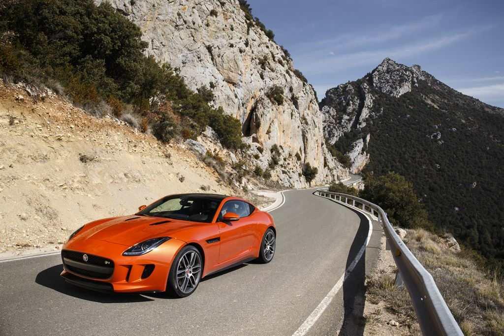 Jaguar F Type Coupe Firesand