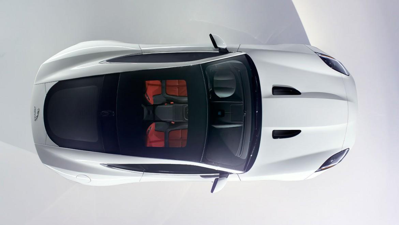 Jaguar F Type Coupe von oben