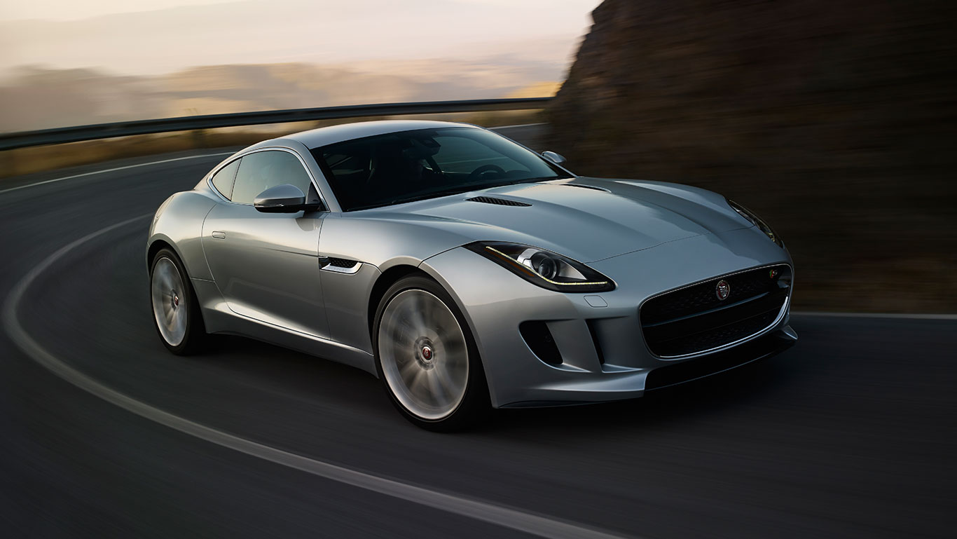 Jaguar F Type Coupe Bilder - 50 F Type Coupe Bilder
