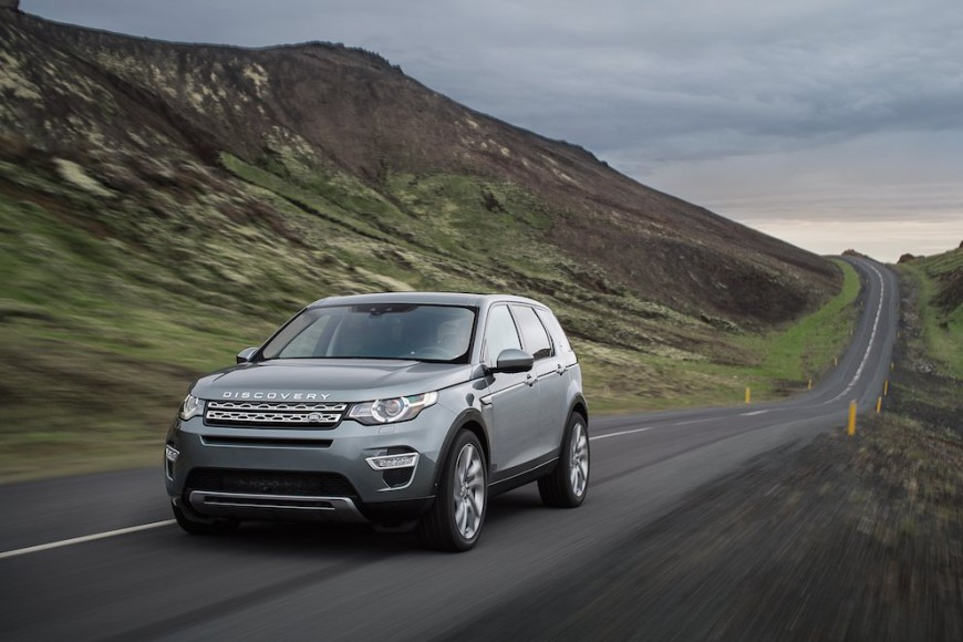 Land Rover Discovery Sport 2015 - 12