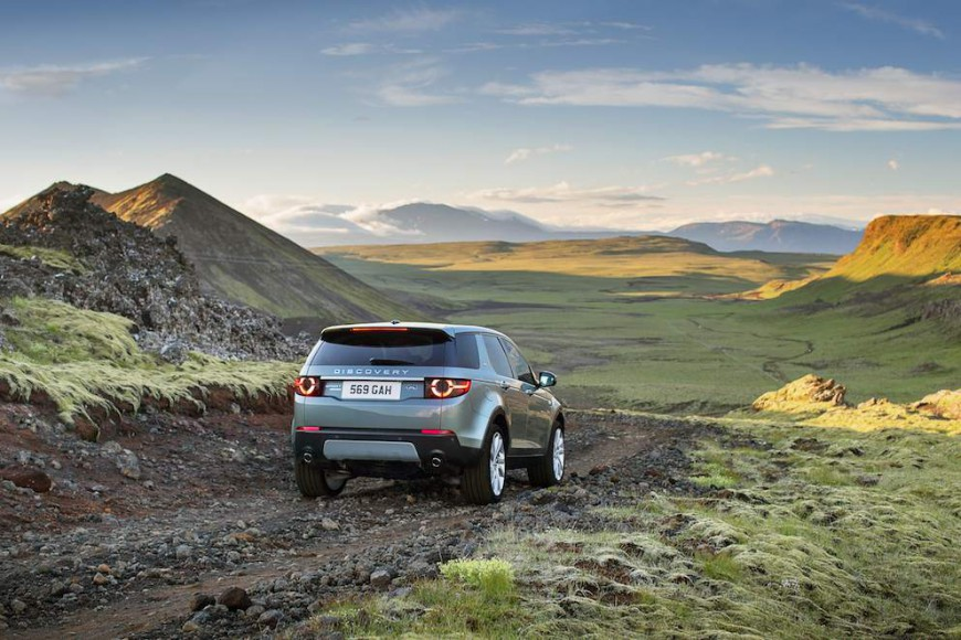 Land Rover Discovery Sport 2015 - 13