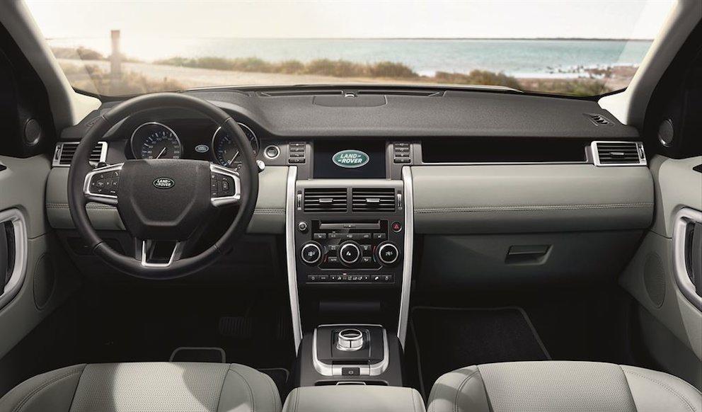 Land Rover Discovery Sport 2015 Armaturenbrett
