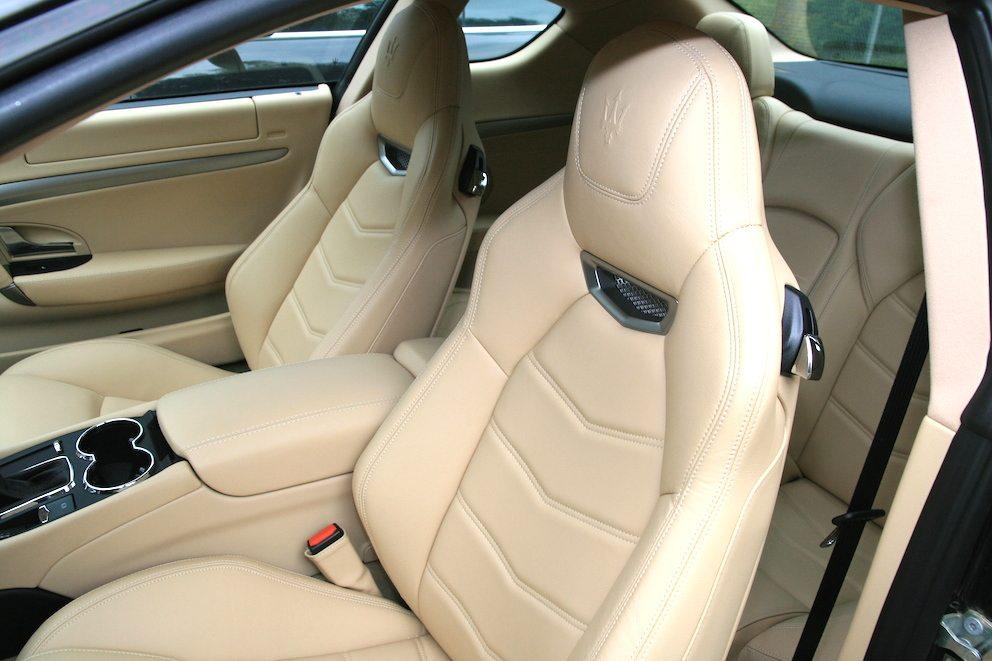 Maserati Granturismo S Innen Leder