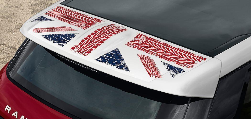 Range Rover Evoque Union Jack