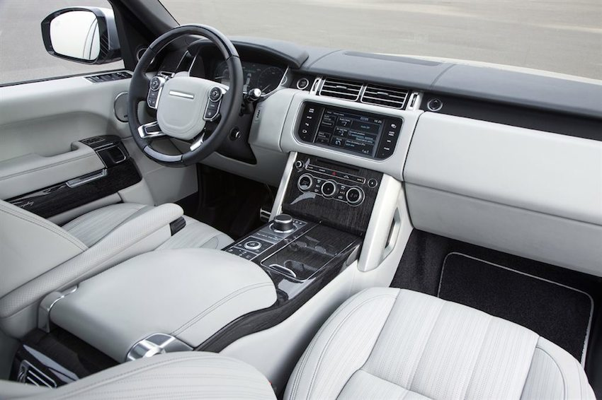 Range Rover Gebrauchtwagen innen