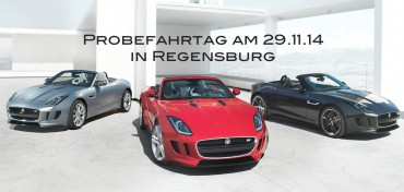 Jaguar Probefahrtag 29.11.14