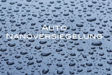 Auto Nanoversiegelung