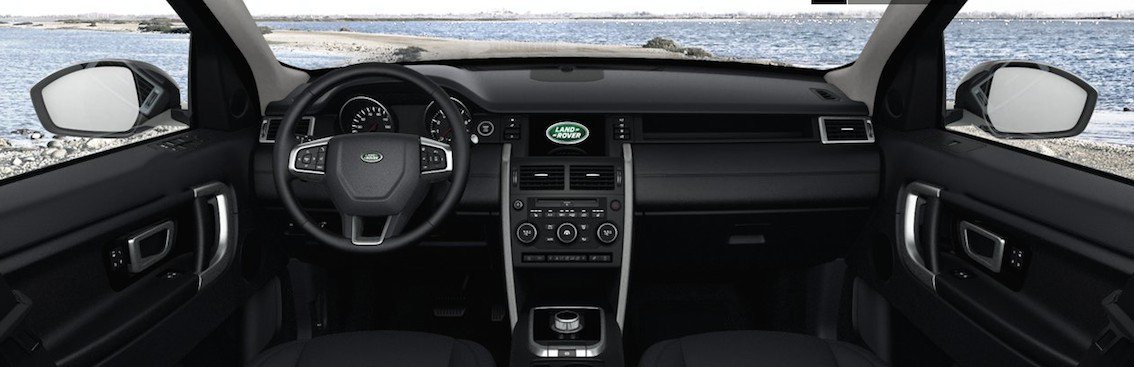 Land Rover Discovery Sport 2015 innen