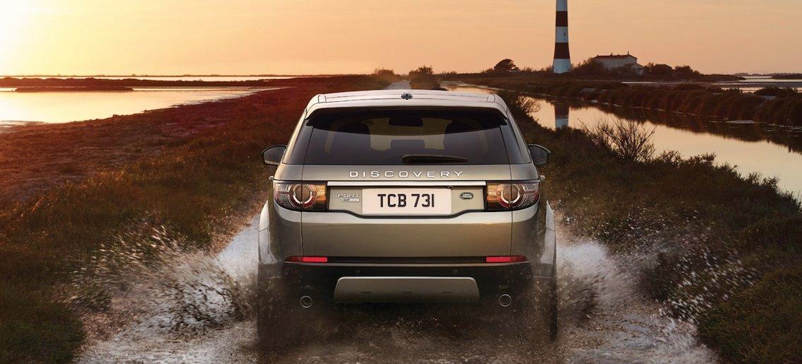 Land Rover Discovery Sport Fahrbereicht 2015