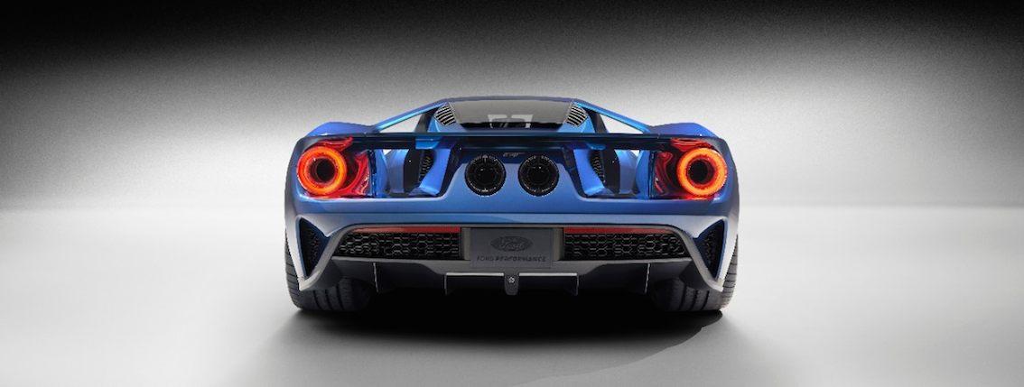 Ford GT 2016 hinten