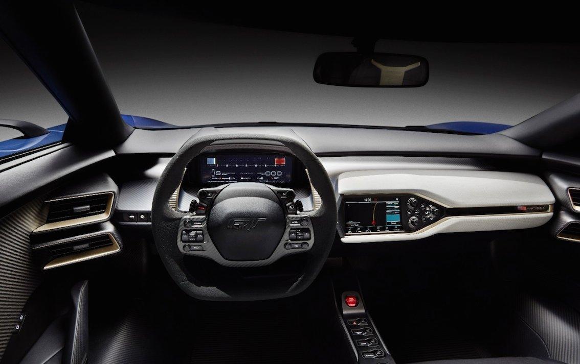 Ford GT 2016 innen