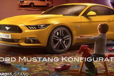 Ford Mustang Konfigurator