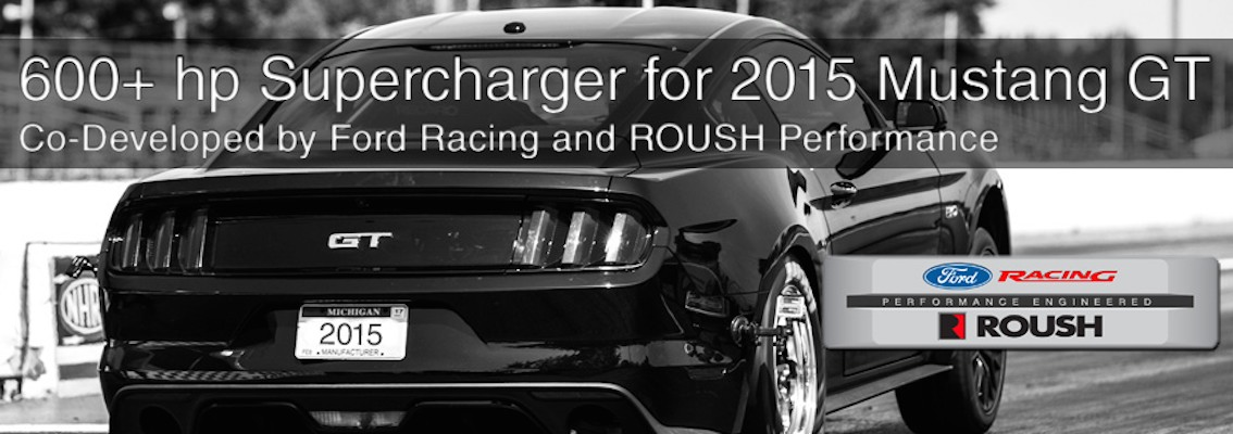 Ford Racing Tuning Ford Mustang 2015