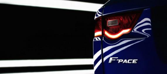 Jaguar F pace SUV