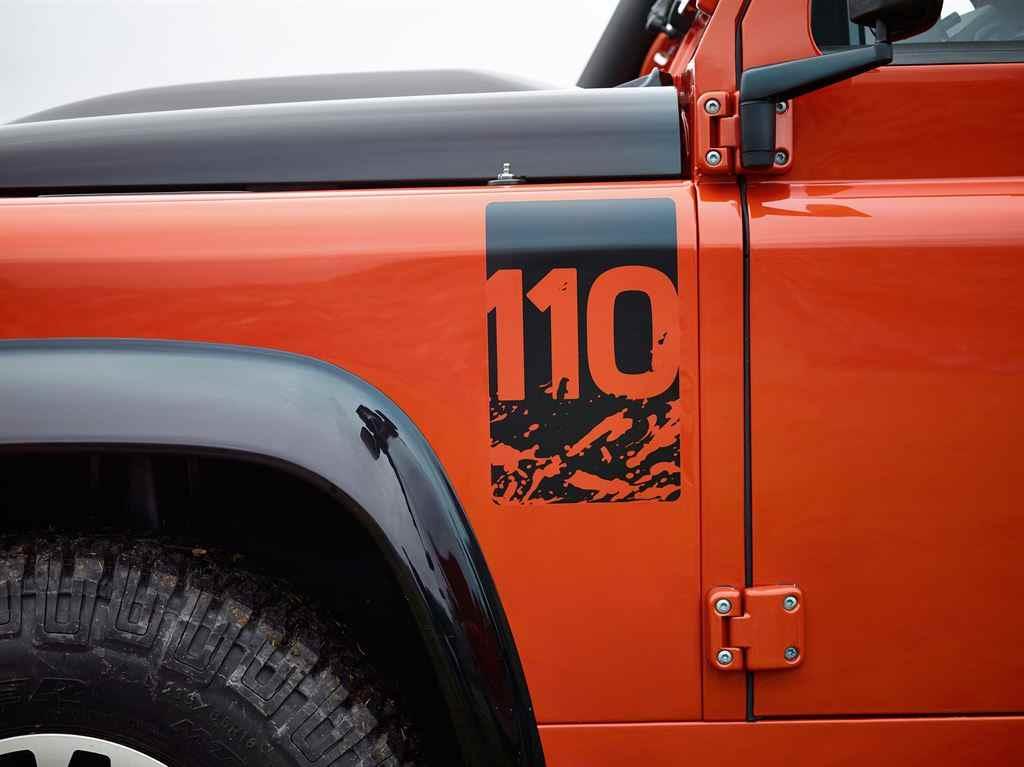 Land Rover Adventure 2015 orange