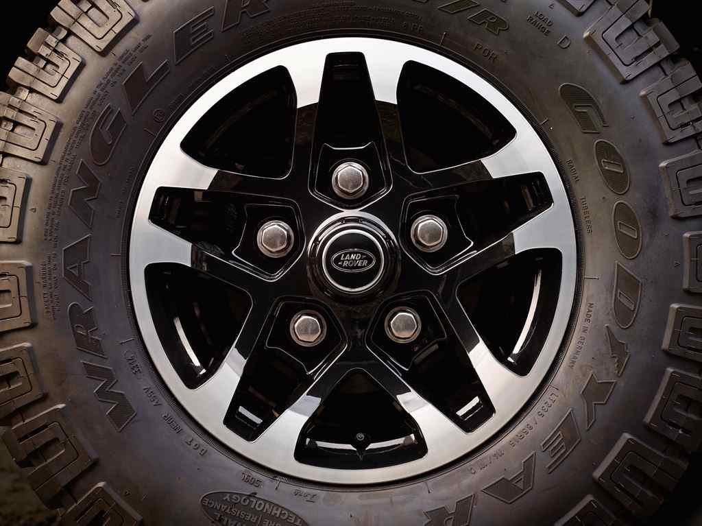 Land Rover Defender 2015 Alufelgen Heritage