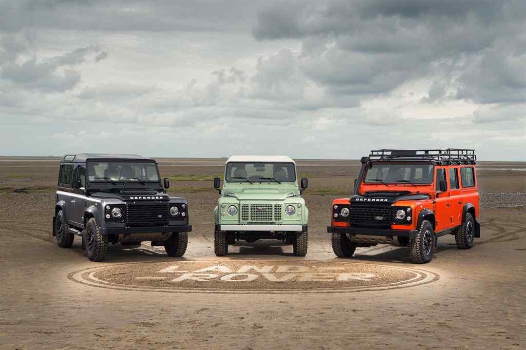 Land Rover Defender 2015 Nachfolger alle