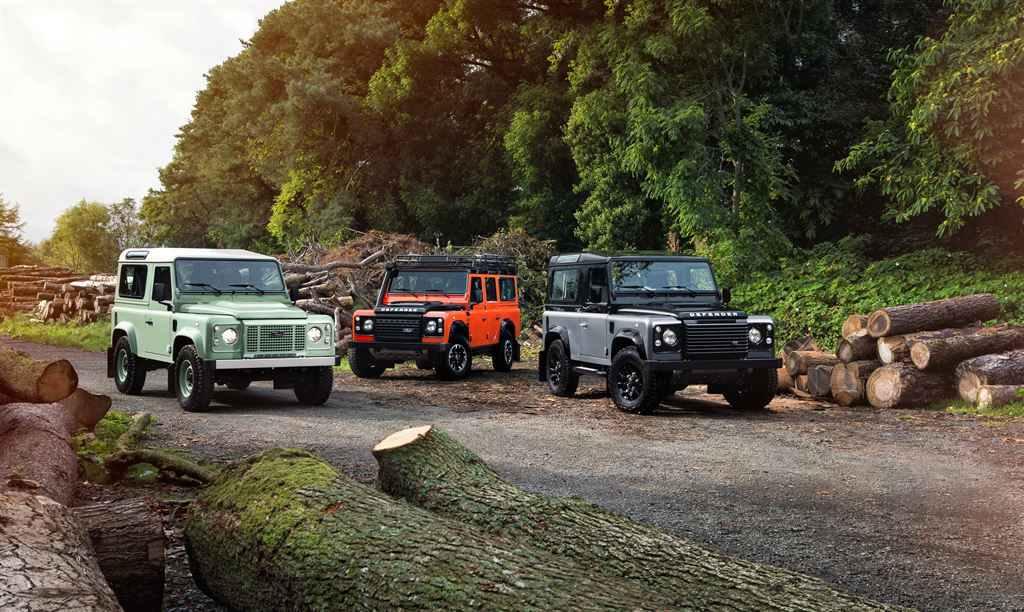 Land Rover Defender 2015 Sondermodelle