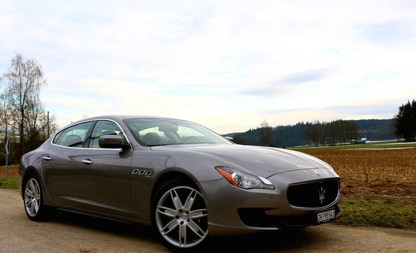 Maserati Quattroporte Diesel Probefahrt