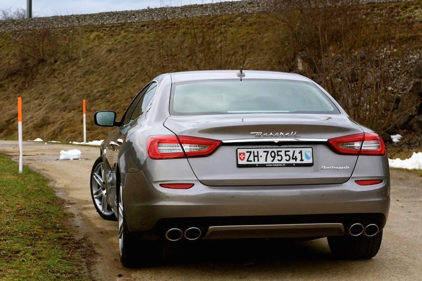 Maserati Quattroporte Diesel Probefahrt  hinten