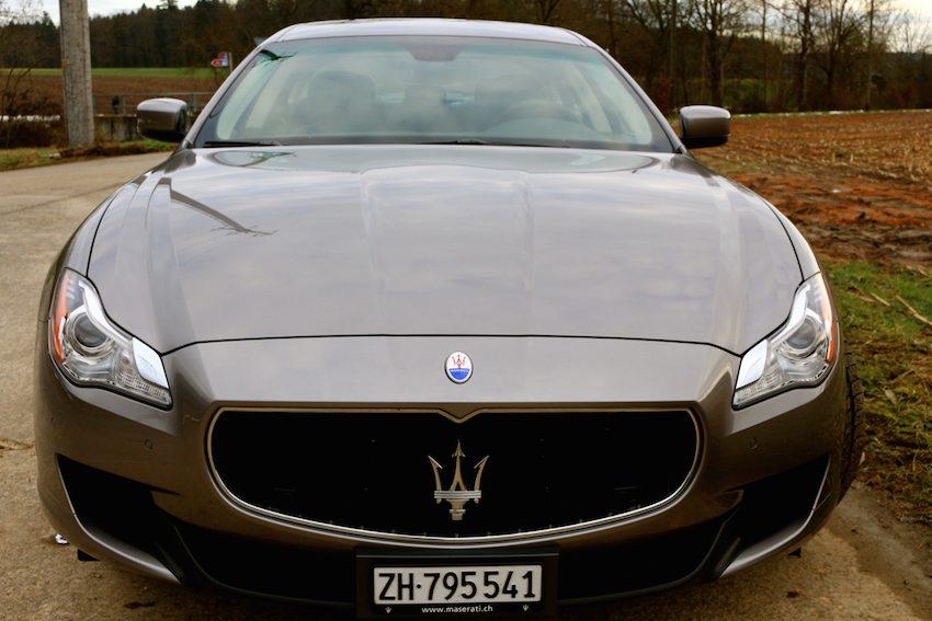 Maserati Quattroporte Diesel Probefahrt  vorne