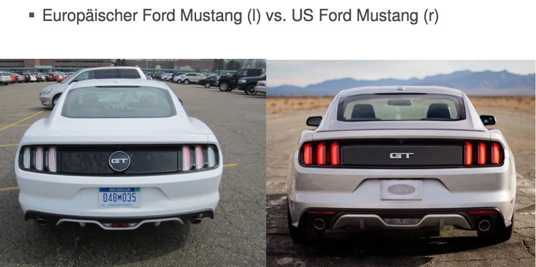 Blinker EU Mustang US Mustang