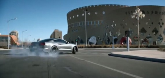 Ford mustang Drift Video