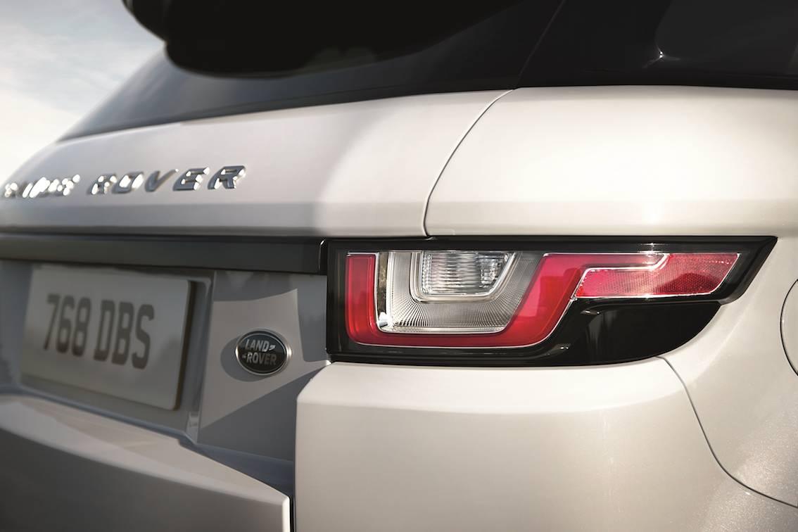 Range Rover Evoque 2016 Heckleuchten