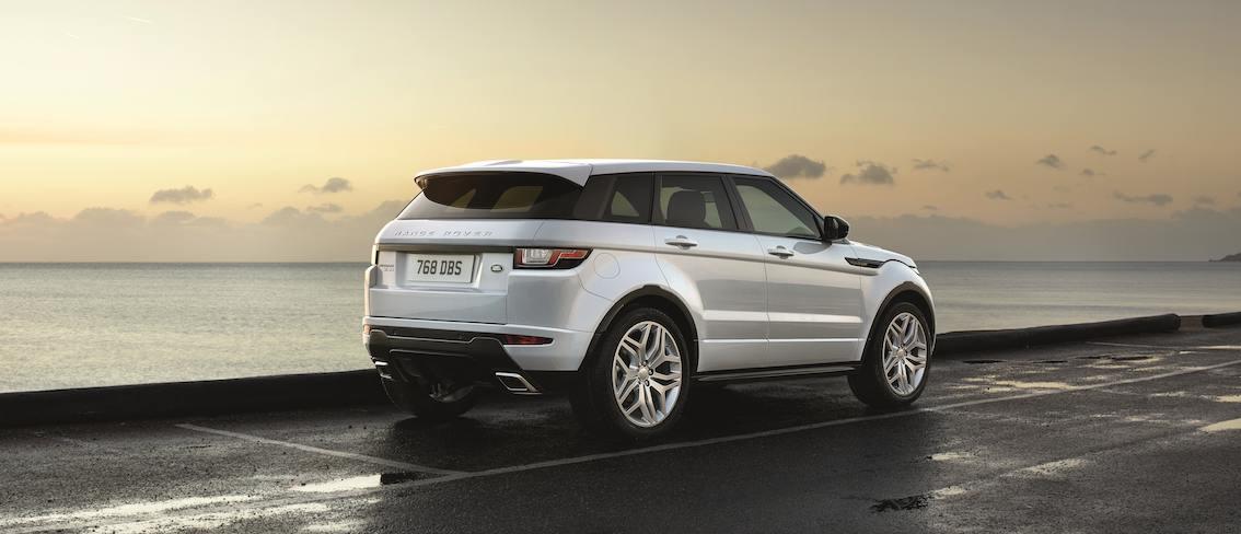 Range Rover Evoque 2016 silber hinten