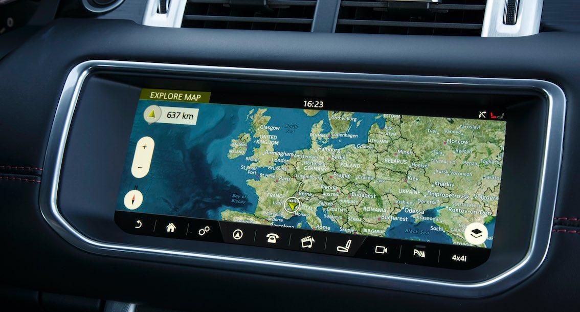Range Rover Evoque 2017 Infotainment