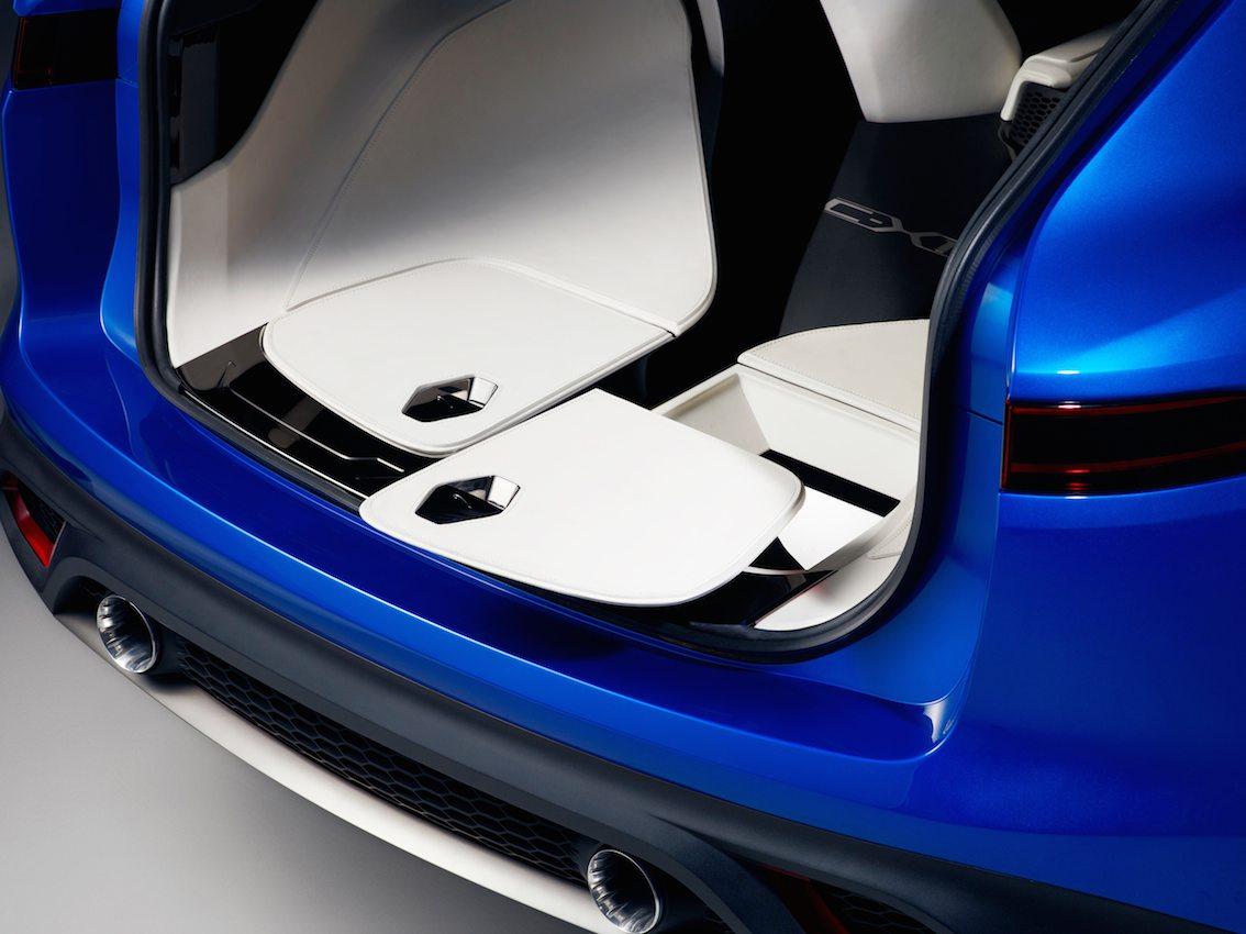 Jaguar F Pace Crossover Kofferraum