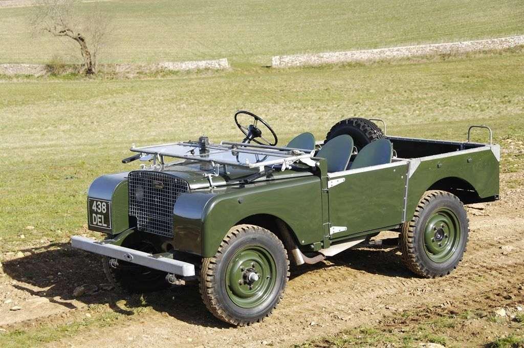 Land Rover 1949 Heritage Händler Bayern