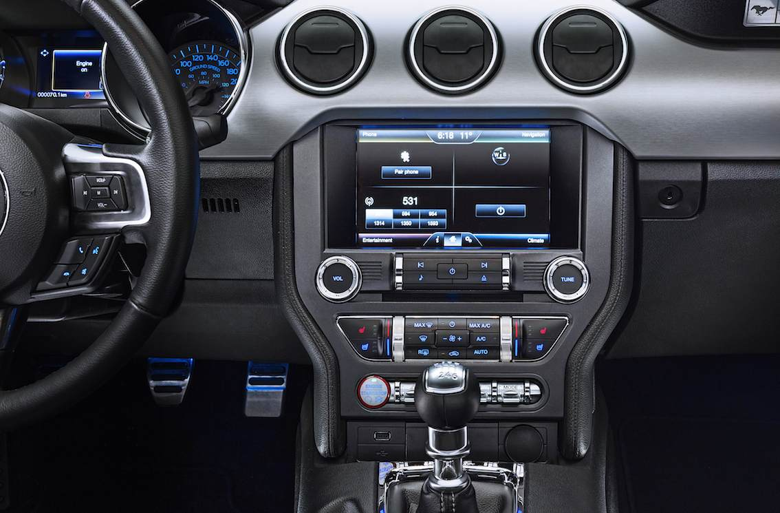 Ford Mustang 2015 Infotainment