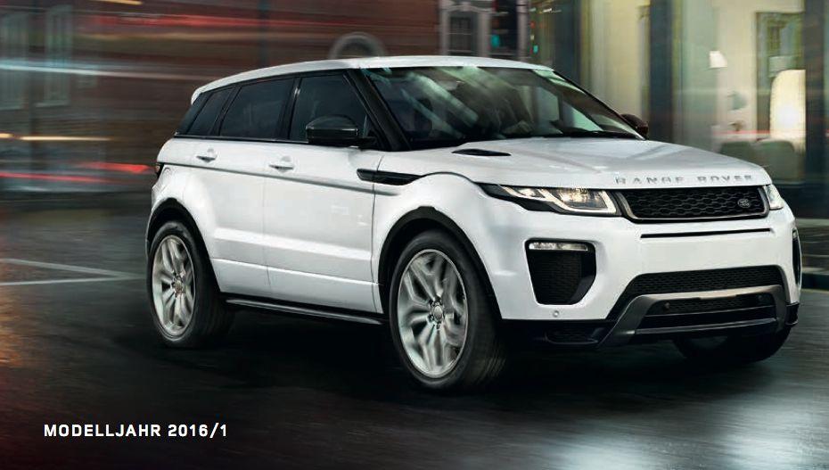 Range Rover Evoque 2016 Preis