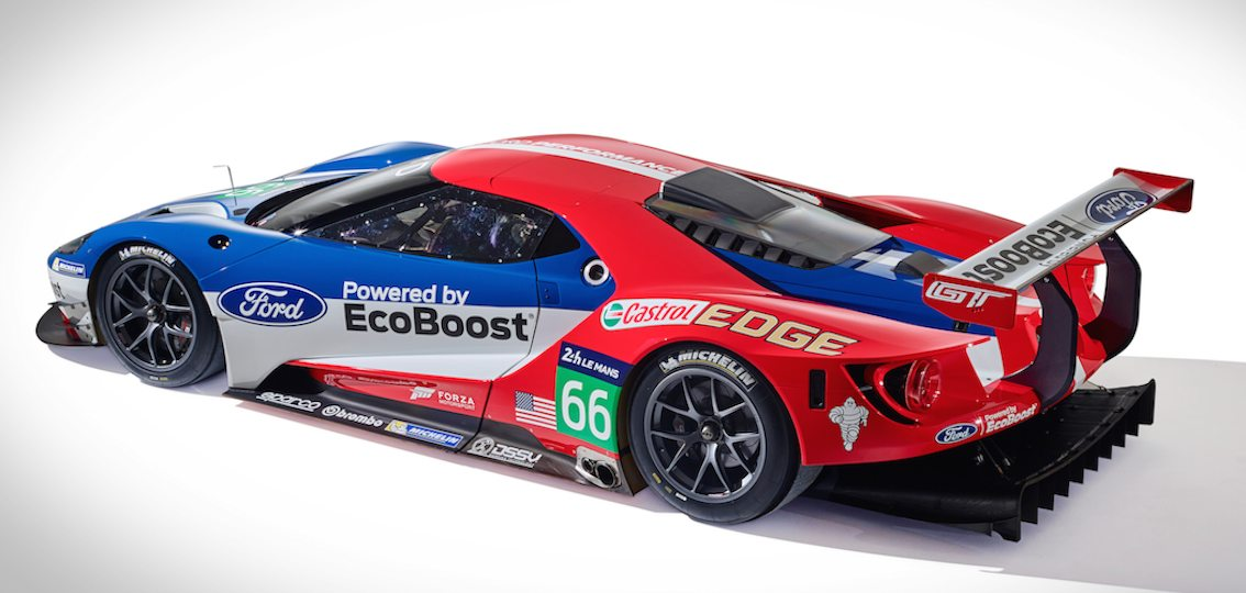 Ford GT Race Car Le Mans 2016 13