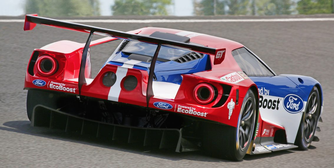 Ford GT Race Car Le Mans 2016 13