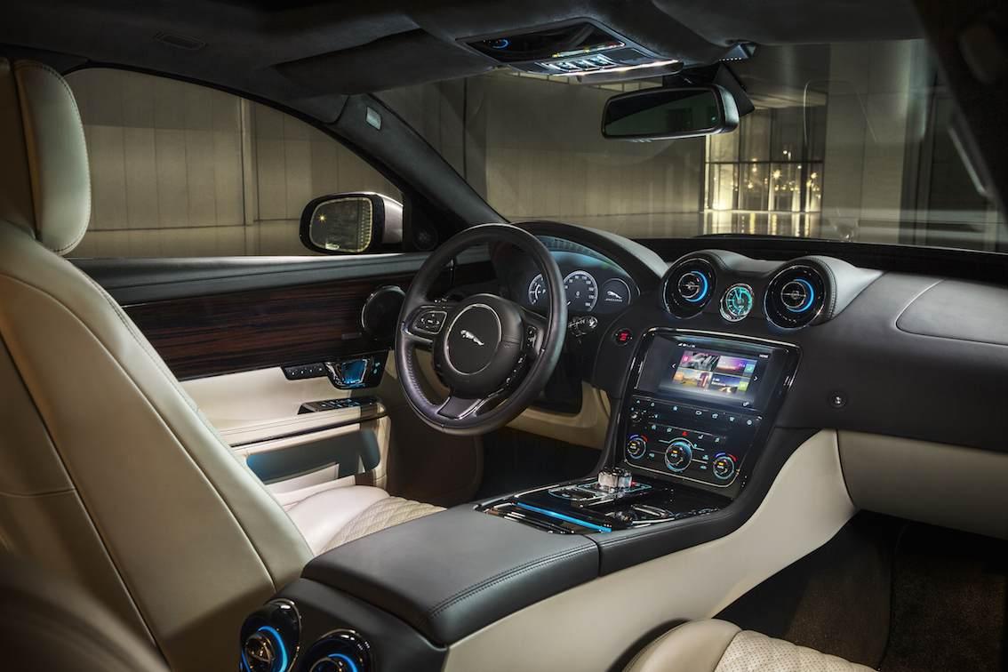 Jaguar XJ 2016 Innenausstattung