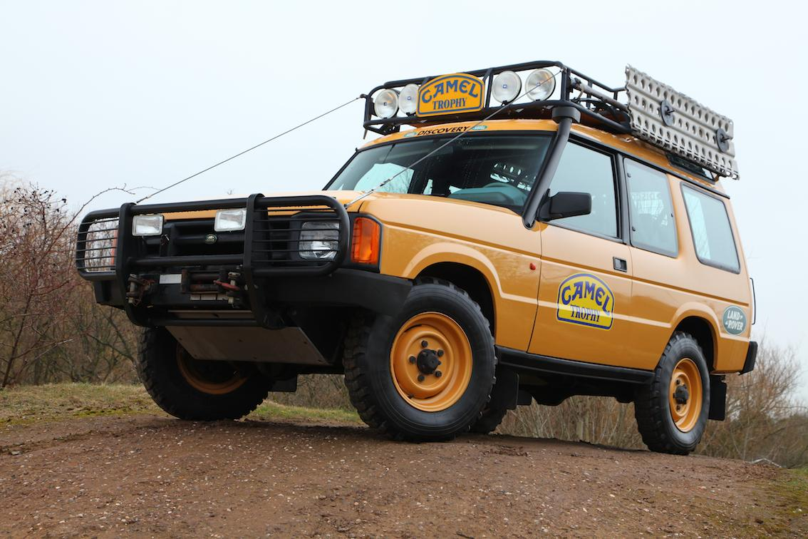 Land Rover Discovery 1 Camel Trophy