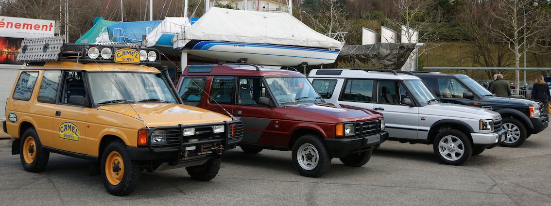 Land Rover Discovery 1 bis 4