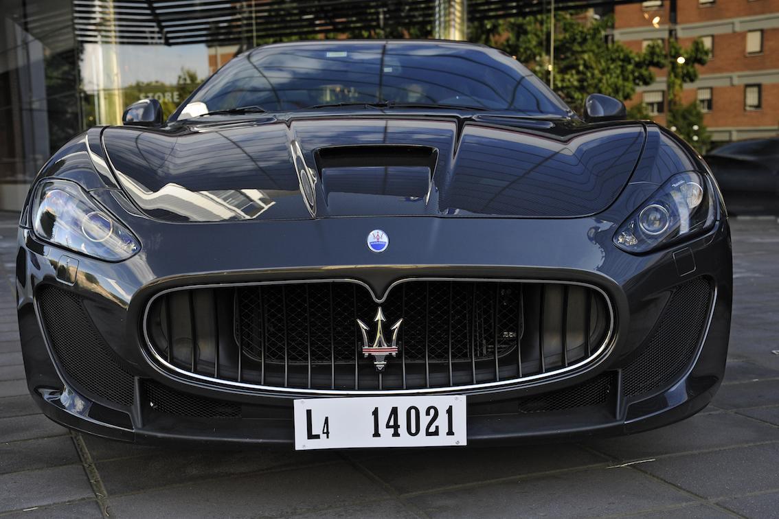 Maserati GranTurismo MC Stradale vorne Fahrbericht
