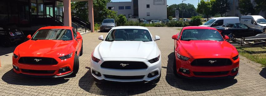 Ford Mustang Dünnes Regensburg
