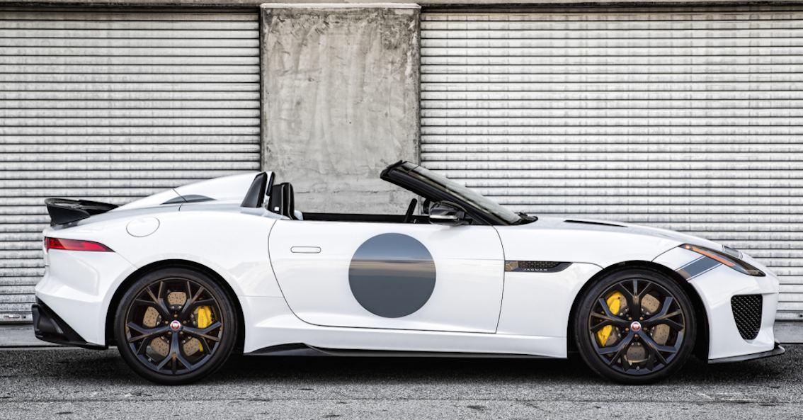 Jaguar F-Type Projekt 7 Ausfahrt 1