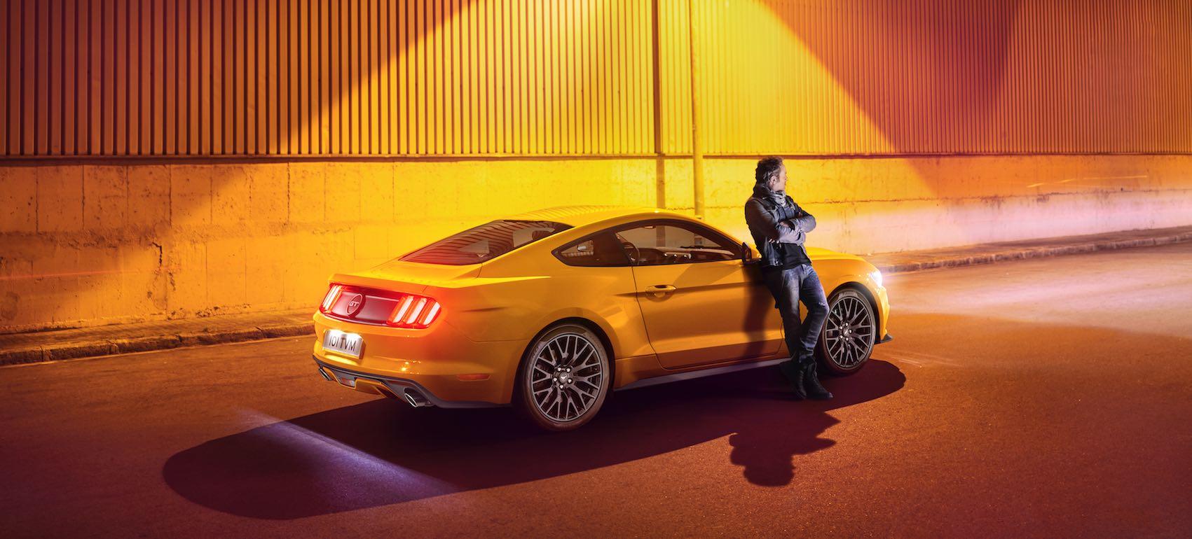 Günstiges leasing angebot für den ford mustang 2016 coupe 23 und 5 0