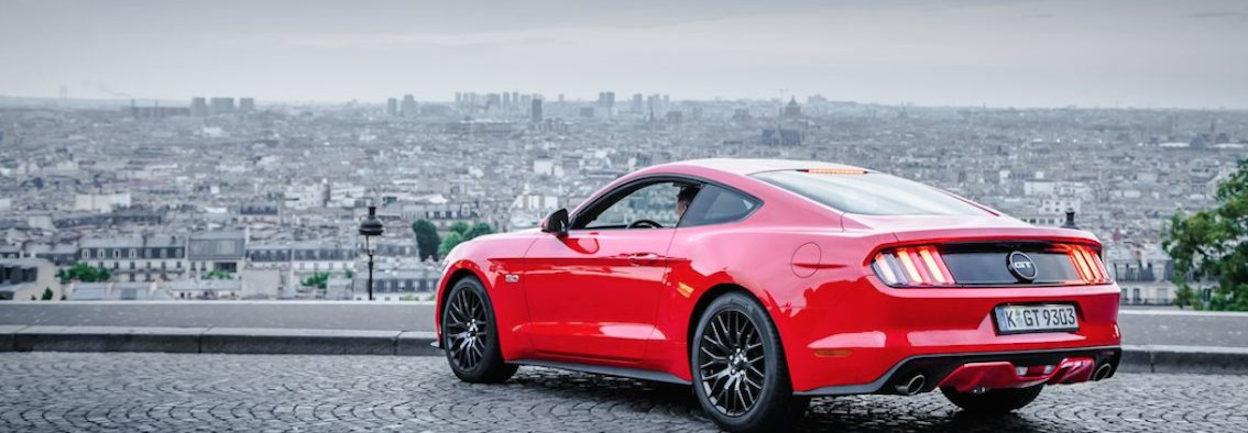 Sportauspuff Ford Mustang 2015