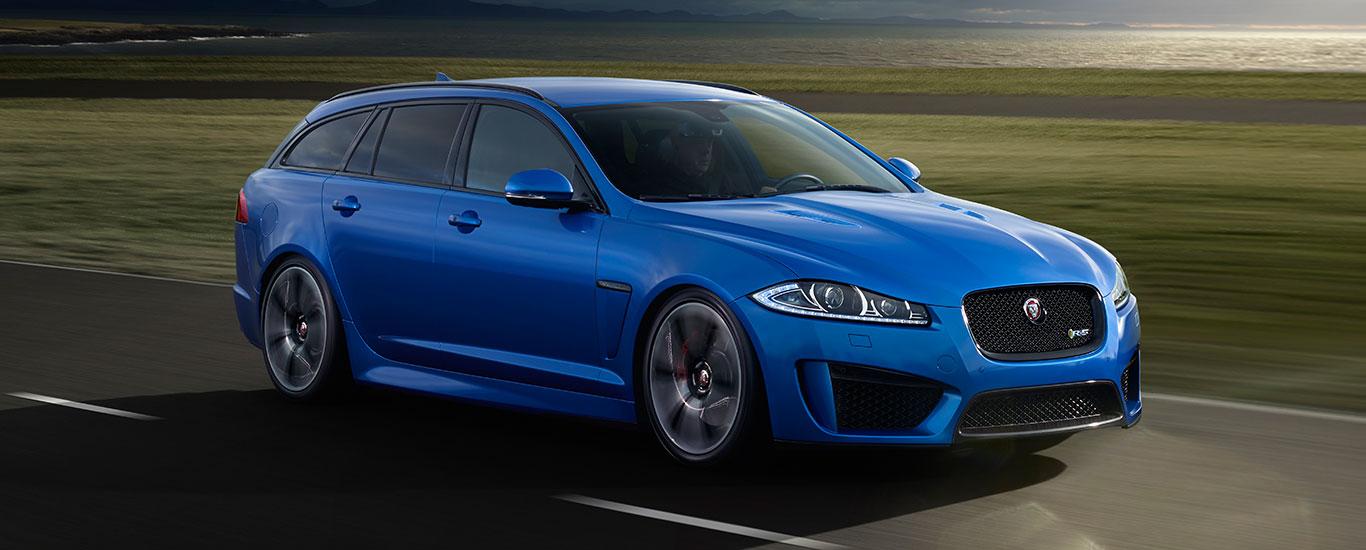 Jaguar Kombi blau