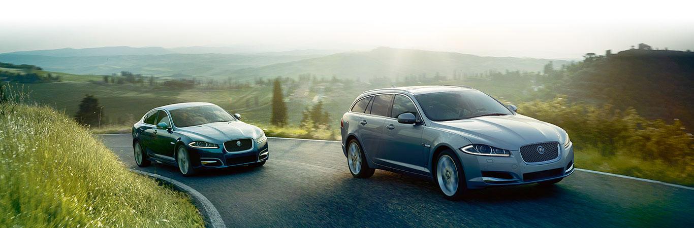 Jaguar XF Limousine und Kombi