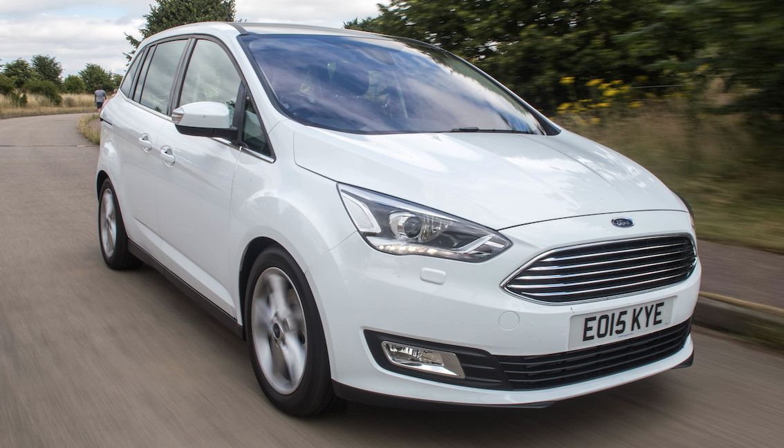 Ford C-Max weiss