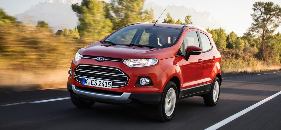 Ford EcoSport rot 2016