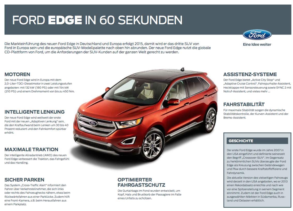 Ford Edge 2016 Regensburg