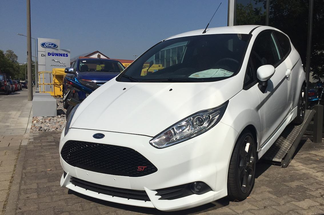 Ford Fiesta ST 2015 weiss Verkauf